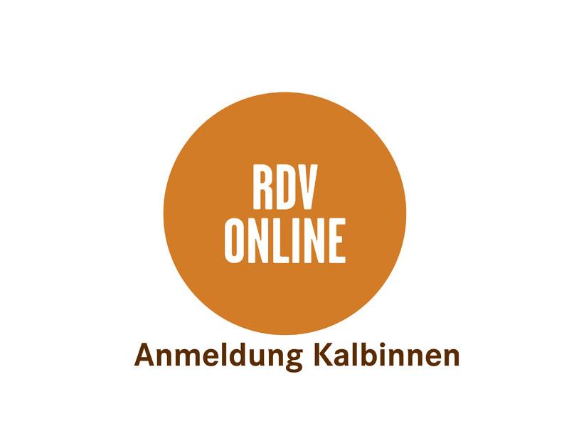 Anmeldung RDV online  Kalbinnen